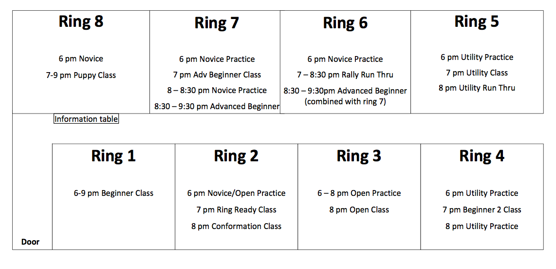 Ring Schedule